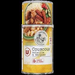 Couscous volaille/merguez U boîte 3/2 980g