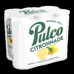 Boisson rafrai.aux aromes de citron & gingembre 6x33cl