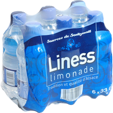 Limonade LINESS, 6x33cl