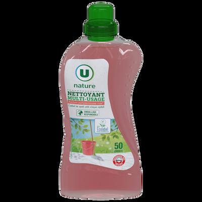 Nettoyant multi-usage pamplemousse rose, U NATURE, 1,25l