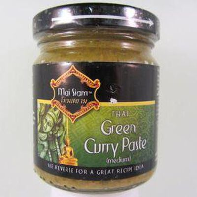Pâte de curry vert MAI SIAM,220g