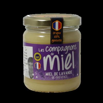 Miel de lavande de Provence COMPAGNONS DU MIEL, 250g