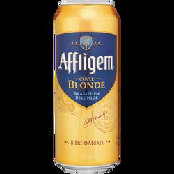 Bière cuvée blonde AFFLIGE, 6,7°, canette de 50cl