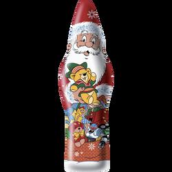 Père Noël chocolat au lait sous alu JACQUOT, 150g