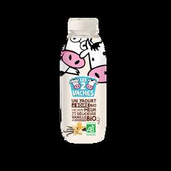 Yaourt à boire bio sucré à la vanille LES 2 VACHES 531g