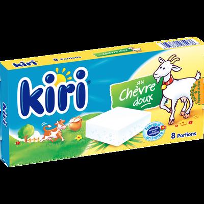 Fromage blanc fondu au lait pasteurisé KIRI chèvre, 33%mg, 8 portions144g