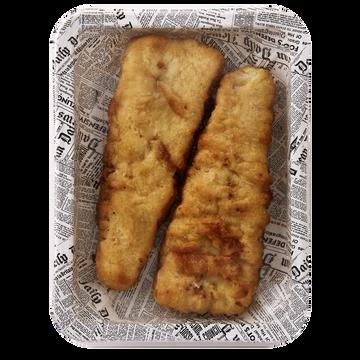 Cité Marine Filet De Cabillaud Façon Fish&chips, Transformé En France, Barquette 220g