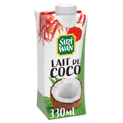 Lait de coco SUZI WAN, 330ml