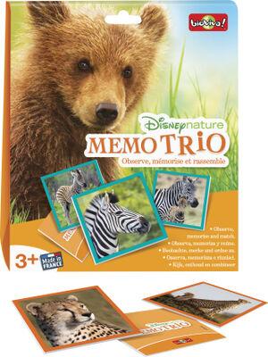 """""""Memo trio DISNEY nature"""""""
