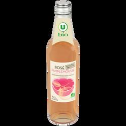 Boisson aromatisé à base de vin rosé pamplemousse U BIO, 8°, 75cl
