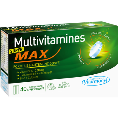 Super tonique - multivitamines max