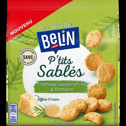 Ptit's sablés fromage affiné Italien et romarin BELIN paquet de 110g