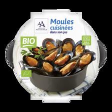 Moules cuisinées, BIO, Espagne, barquette, 400g