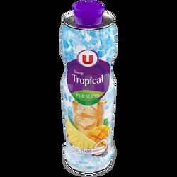 Sirop tropical U, bidon de 75cl