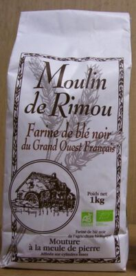 Farine de sarrasin bio GOF 1KG moulin de quincampoix
