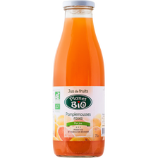 Jus de pamplemousse rose, BIO, bocal de 75cl