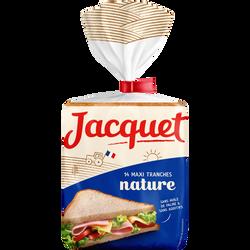 Pain de mie nature Maxi Jac' JACQUET, 550g