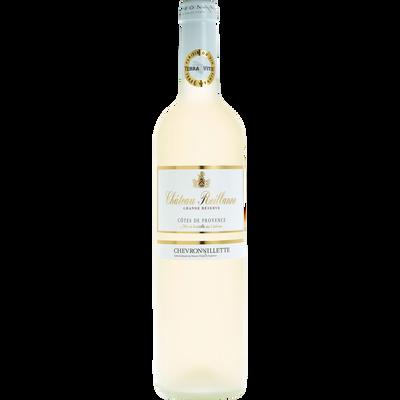 """Vin blanc AOP Côtes de Provence  """"Chateau Reillanne"""", grande réserve 75 cl"""