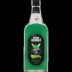 Cocktail sans alcool citron vert kiwi U, bouteille de 75cl