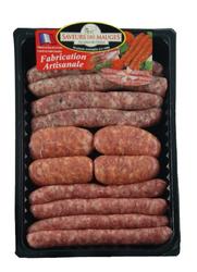 PLATEAU CHORIZO/CHIPOS 600 g , SAVEURS DE MAUGES