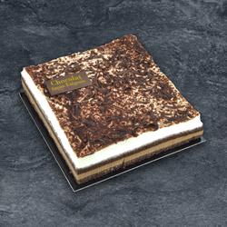 Entremets chocolat façon liègeois décongelé, 6 parts, 505g