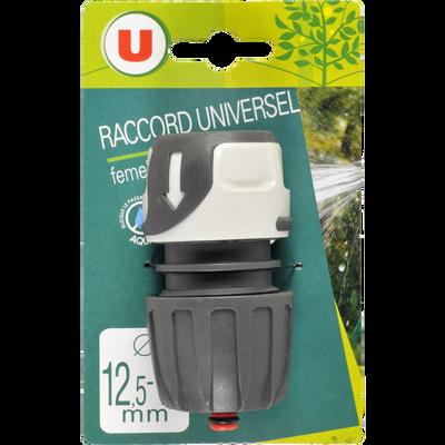 Raccord universel femelle aquastop U, 12/15mm 16/19mm, soft touch