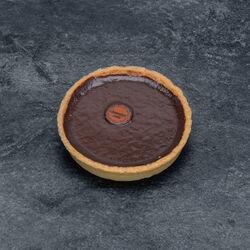 Tartelette chocolat noir décongelé, 1 pièce, 75g