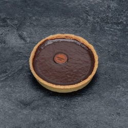 Tartelette chocolat noir décongelé, 4 pièces, 300g