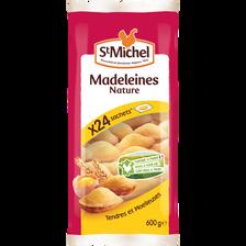 Madeleines coquilles aux oeufs de plein air ST MICHEL, X24, 600g