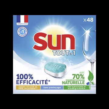 Sun Tablettes Lave-vaisselle Classique Sun, X48