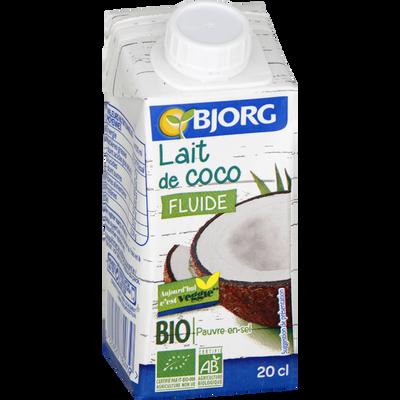 Lait de coco bio BJORG, 200ml