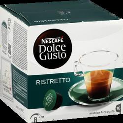 Café Ristretto NESCAFE DOLCE GUSTO, x16 soit 104g