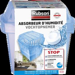 Absorbeur basic RUBSON, 20m2 + 1 tabs de 450g