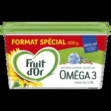 Fruit d'Or Margarine Allégée 60%mg Demi-sel  600g Offre Spéciale