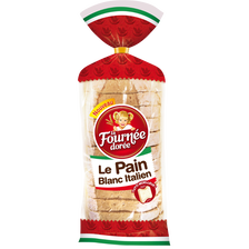 Pain blanc italien LA FOURNEE DOREE, 550g