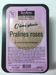 GLACE ARTISANALE PRALINES ROSES