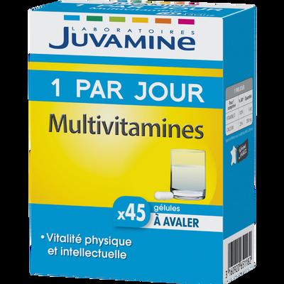 Multivitamines 1 par jour gélules à avaler JUVAMINE, x45