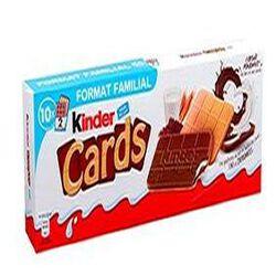 KINDER CARDS 256G