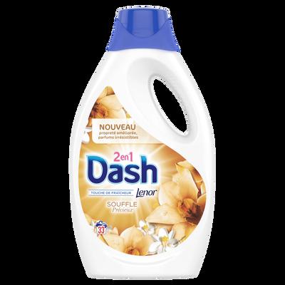 DASH 2 en 1 liquide Souffle Précieux, 33 doses soit 1815ml