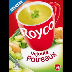 Velouté poireaux ROYCO, paquet de 4 sachets soit 80cl