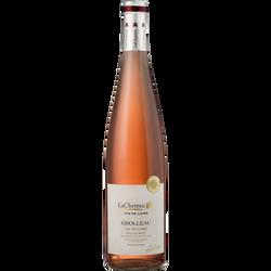 """Vin rosé de pays de Retz Val de Loire, """"Grolleau"""", 75cl"""