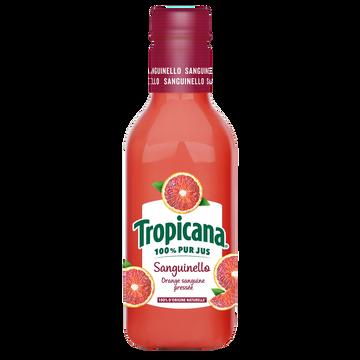 Tropicana Jus D'orange Sanguine Tropicana, Bouteille En Plastique De 90cl
