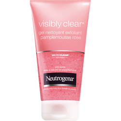 Gel exfoliant au pamplemousse rose Visibly Clear NEUTROGENA, tube de 150ml