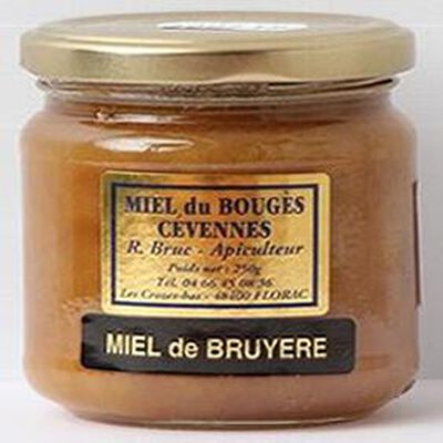 Miel de bruyère du Bouges des Cévennes, 250g