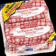 Paysan Breton Beurre Moulé Demi-sel 80%mg Paysan Breton 2x250g