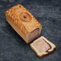 Pâté en croûte Alsace aux pistaches