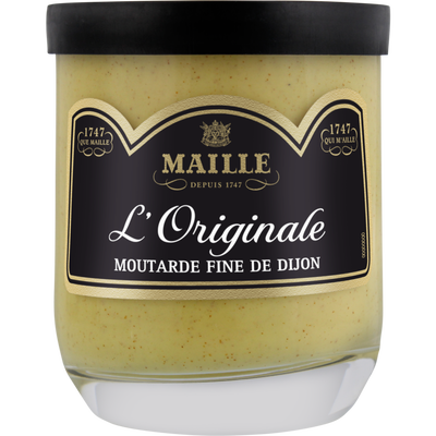 Moutarde de Dijon l'originale MAILLE, verrine, 165G