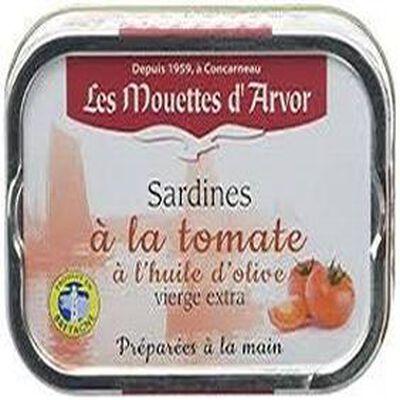 Sardines à la tomates 75g