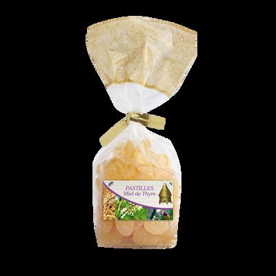 Pastilles au miel de thym FAMILLE PERRONNEAU, sachet de 200g