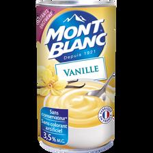 Crème dessert à la vanille MONT BLANC, boîte de 570g